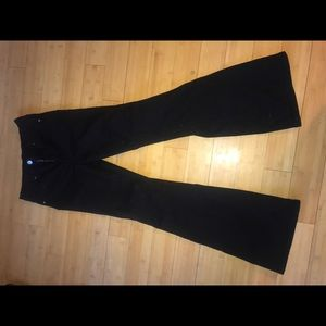 Black Flare Jeans From Urban Outfitters
